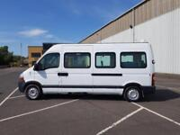 2008 08 PLATE Renault MASTER 2.5 MINI BUS WITH NIGHT HEATER
