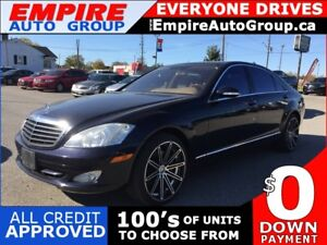 2007 MERCEDES-BENZ S-CLASS S550 4MATIC * AWD * LEATHER * NAV * R