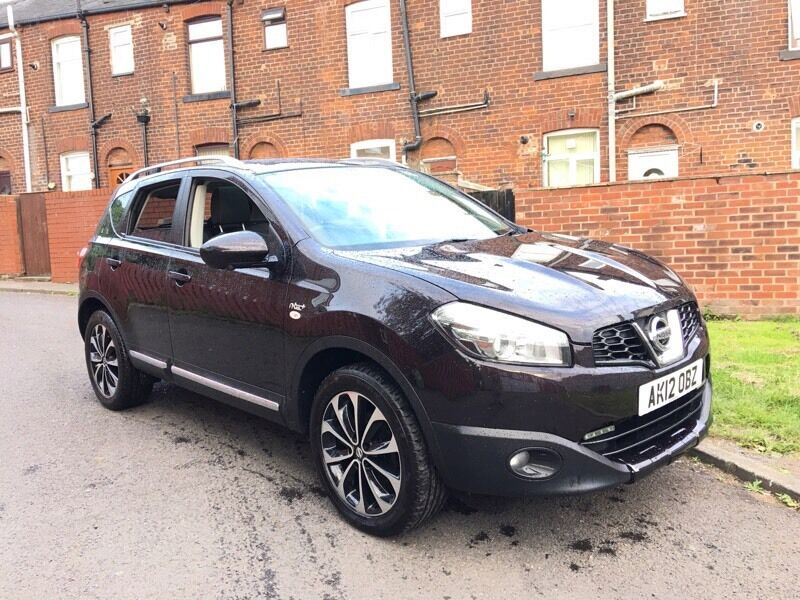 2012 nissan qashqai diesel n tec plus top spec bargain. Black Bedroom Furniture Sets. Home Design Ideas