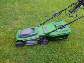 Powerbase Lawnmower 1600w excellent condition