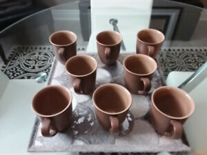 Denny Energy Cinnamon Coffee Beakers Set of 8