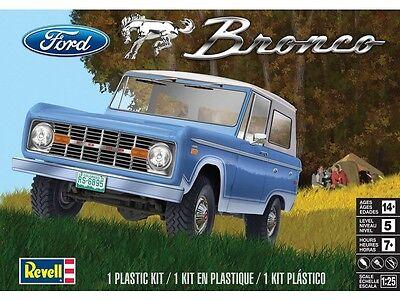 Revell Monogram 1966 Ford Bronco W/ removable hardtop Model Kit 1/25 IN STOCK!!