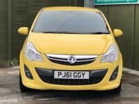 2012 Vauxhall Corsa 1.4 i 16v SRi Hatchback 5dr Petrol Manual (a/c) (129