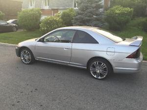 2002 Honda Civic Coupé DOIT PARTIR VITE / NEEDS TO GO FAST