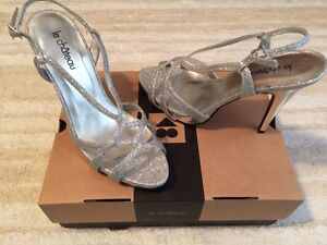 NWT Le Chateau Silver high heels Size 7 Windsor Region Ontario image 1