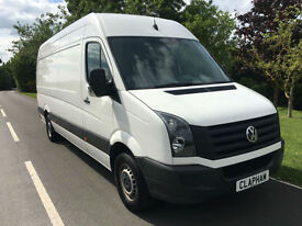 2015 15 VOLKSWAGEN CRAFTER 2.0TDI 110BHP LWB FULL VW SERVICE HISTORY 1 OWNER