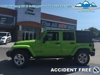 2013 Jeep Wrangler Unlimited Sahara   - Accident Free