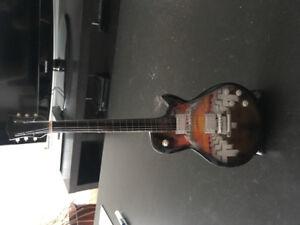 Metallica miniature guitar display