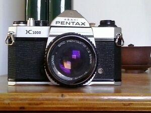 Appareil photo argentique pentax asahi K1000