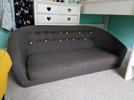Small kids-size modern sofa - perfect for playroom!