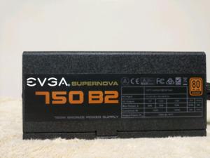 EVGA Supernova 750 B2 Semi Modular ATX