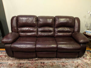 Couch and love seat combination! Perfect condition!