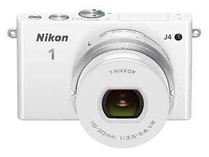 Nikon J4 white with Kit Lens + 30-110mm+6.7-13mm lens+1 bag+1 ba