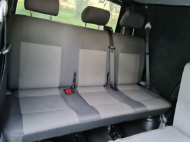 Vw t5 rear seats brackets and belts