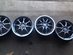 Four great condition 17 inch rims (Price Negotiable)