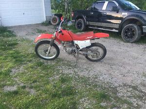 2001 Honda XR four stroke