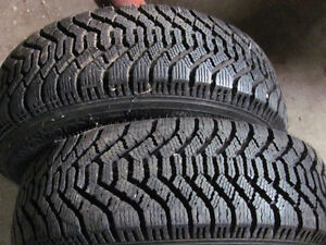 Two 13 inch winter tires