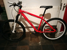 Too spec bike - hydraulic brakes - lockout forks RRP £450