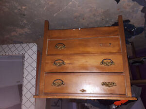 Well used antique dresser