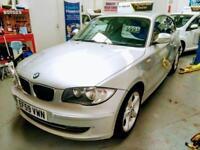 PRISTINE 2010 BMW 118D 2.0 DIESEL SPORT, ONLY 45,000 MILES, NEW MOT & WARRANTY