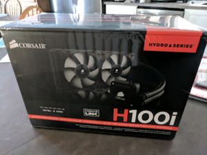 New Corsair H100i  *Unopened* CPU Cooler