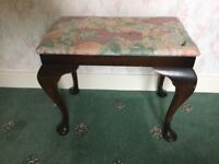 Small bedroom dressing table stool