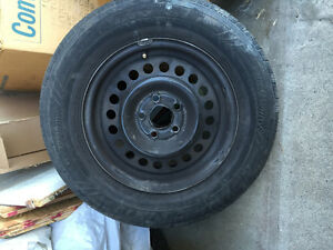 195 70 R14 tires with rims Strathcona County Edmonton Area image 2