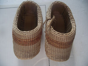 Hand Made Straw Shoes