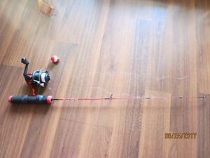 Fishing rod. Barely used. Excellent condition. Good for kids.