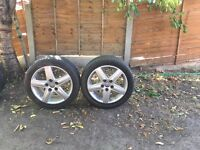 Audi SLINE ALLOYS 4 set