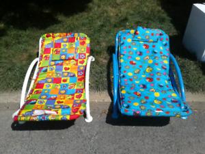 Chaises allongées de patio-plage-piscine enfants