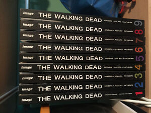 Walking Dead books 1-9