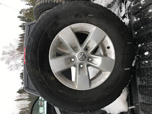tires and rims off 2015 dodge ram 1500
