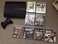 PlayStation 3 superslim model and games