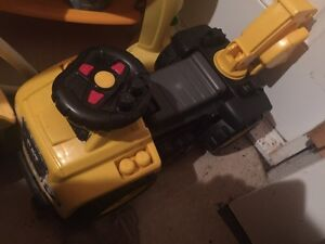 ride-on digger