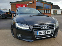 2008 Audi A5 2.7TDI 3d Multitronic 2008MY Sport BLACK ALLOYS AUTOMATIC DIESEL