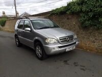 Mercedes ml 270 cdi 7 seater long mot