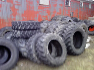 good used tractor/loader tires