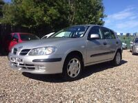 2000 Nissan Almera - Low Mileage - Ready to drive away - Aylsham Affordable Car Centre