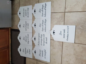 Wedding Items for Sale Part 2