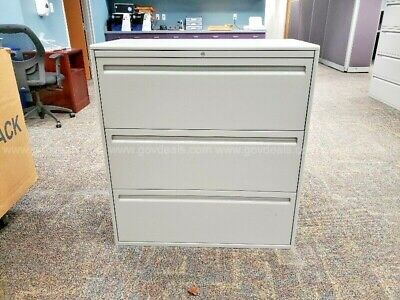 Haworth 3-drawer Lateral File - Gray- Carson City Nv
