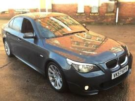 BMW 530D 3.0 M SPORT AUTOMATIC DIESEL,HPI CLEAR,LCI FACELIFT,NEW TURBO,SAT NAV