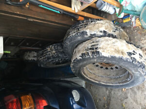 Like new set of 4 winter tires