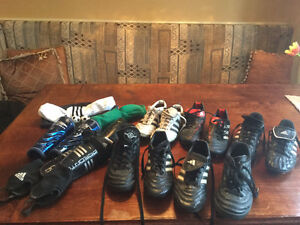 Soccer shoes, shorts, socks and misc