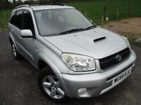 2005 TOYOTA RAV-4 XT-R D-4D LEATHER 4X4 DIESEL