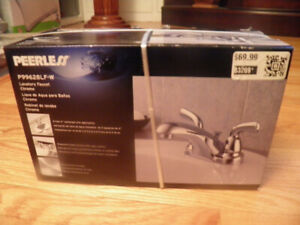 brand new peerless chrome bathroom faucet