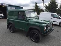 Land Rover Defender 90 TD5 2.5 td hard top only 68258 miles from new 2003 03 Reg