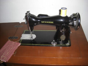Kenmore Sewing Machine, with a very nice Desk