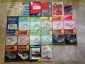Various GM Service Manuals, GM/Chilton/Haynes