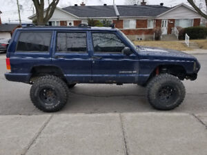 1999 jeep cherokee Limited Lift 6 pouces XJ